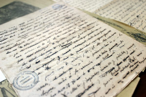 manuscrito de rodó