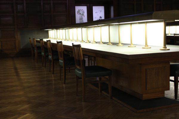 sala de lectura de la biblioteca nacional
